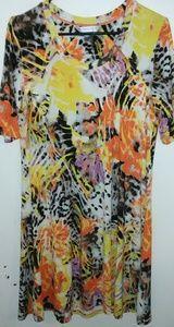 Petite Peter Nygard multi color dress